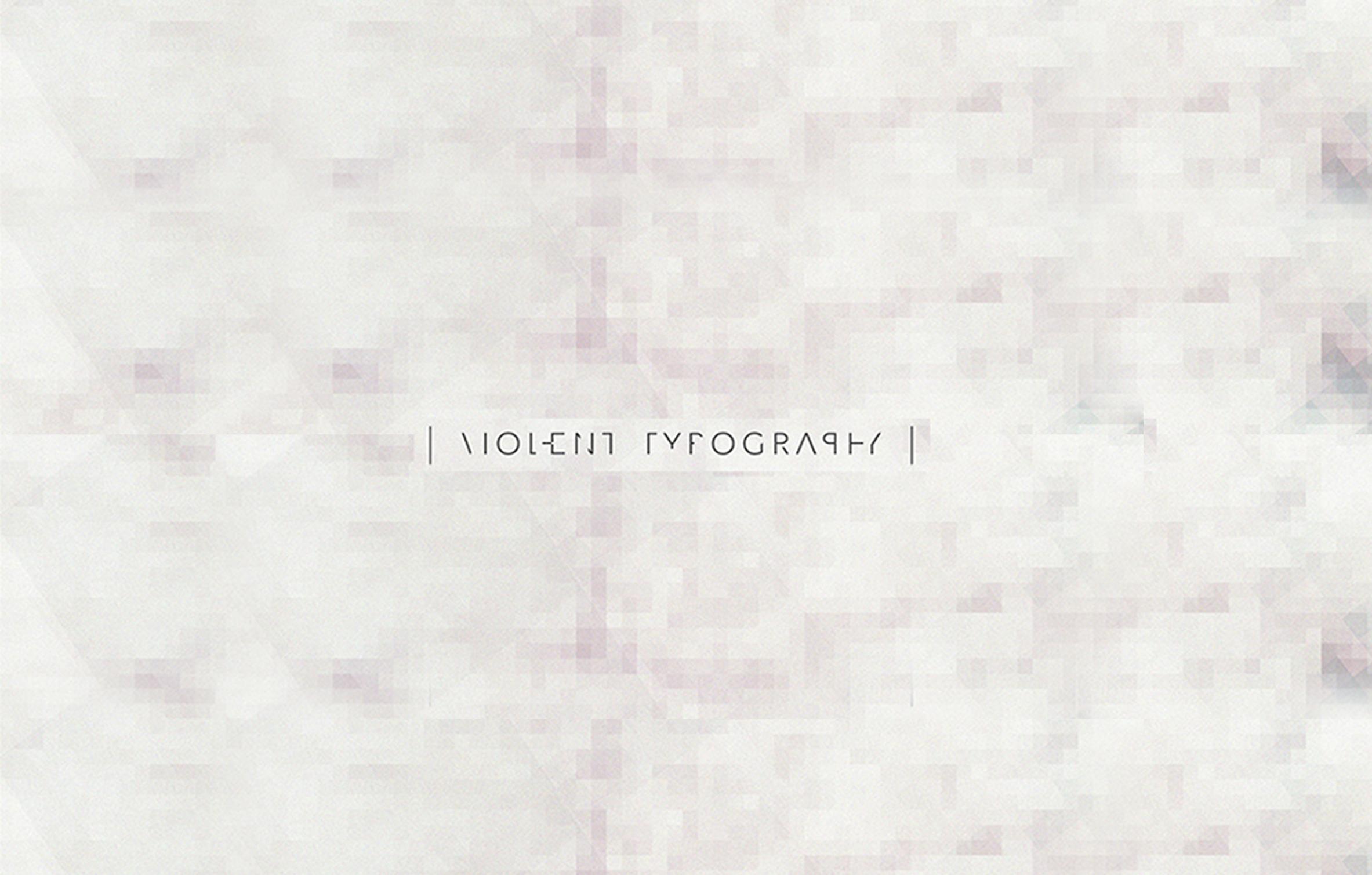 Violent Typography